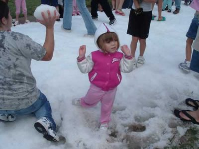 Snow Party for Kids in Houston