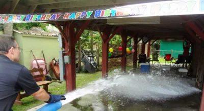 Birthday Snow Parties