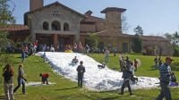 Childrens Event Snow Slide Rides