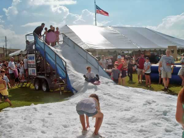 Event Snow Slide Rides