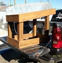 Ice Express Tailgator Ice Block Holder