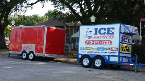 Ice Trailers for Events in Houston