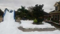 Large Scale Snow Slide