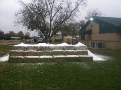 Let's Make A Snow Slide
