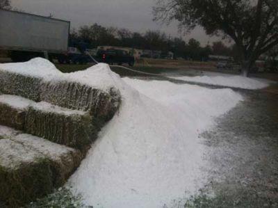 Man Made Snow Hill Slide