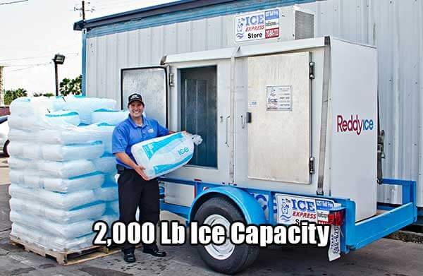 Mobile Ice Trailers for Rent