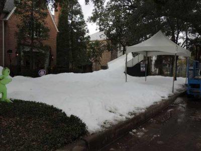 Neighborhood Block Snow Party