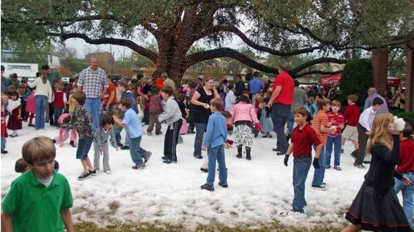 Snow Parties for Groups In Houston