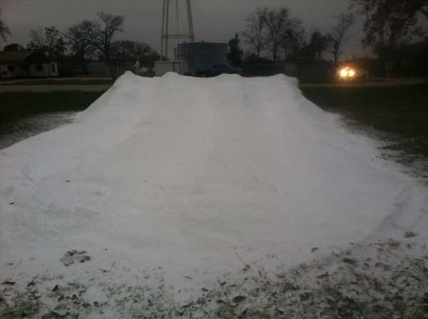 Snow Slide In Houston