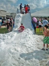 Special Event Snow Slide Rides