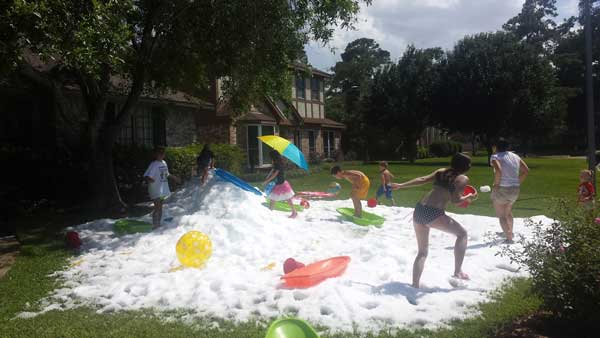 Summer Snow Party in Houston