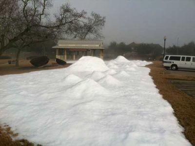Winter Snow In Houston