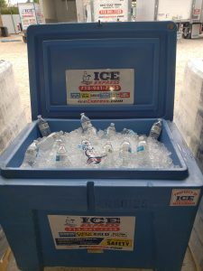 Iced Water Coolers