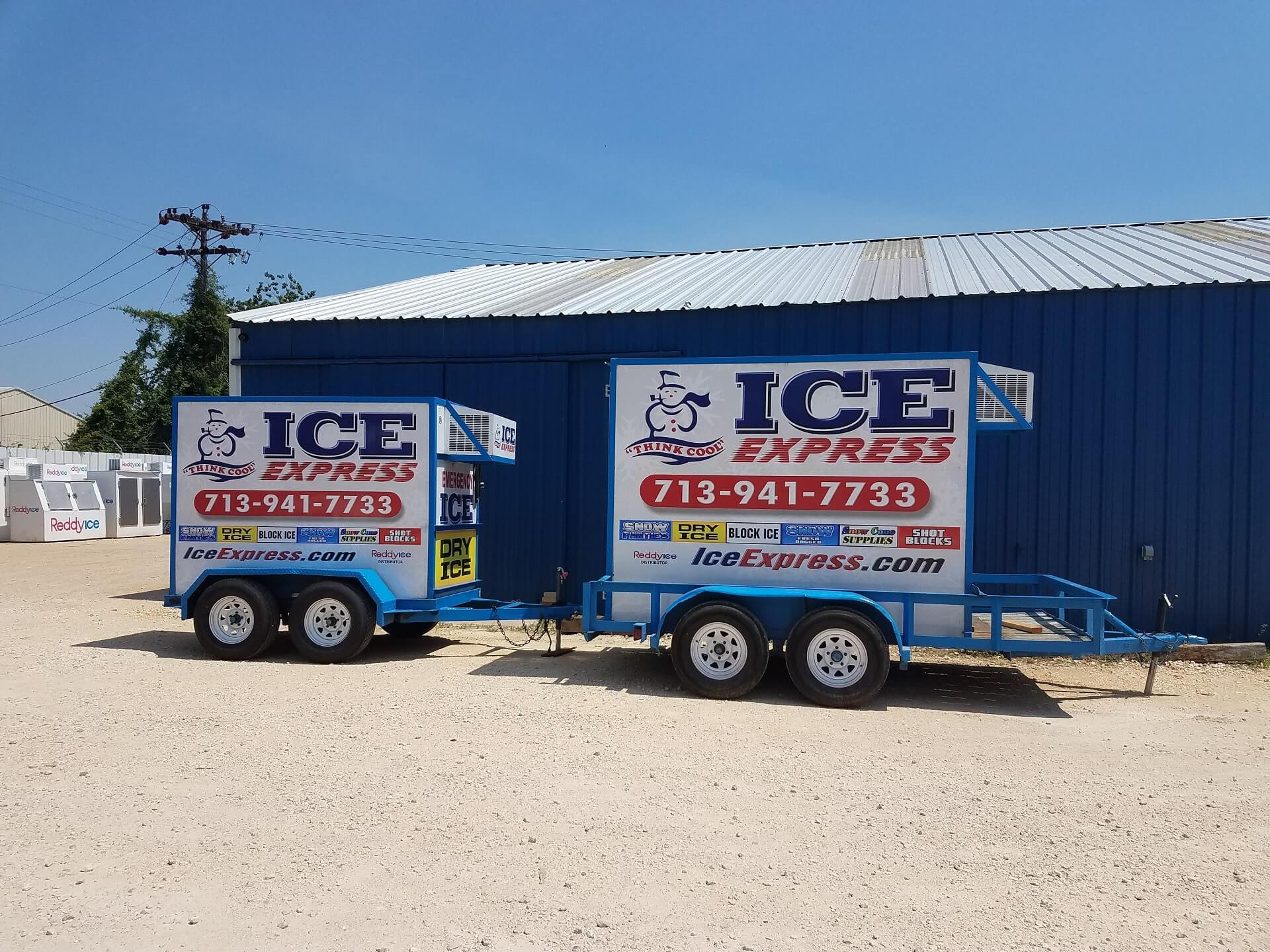 Ice Trailers For Rent In Houston