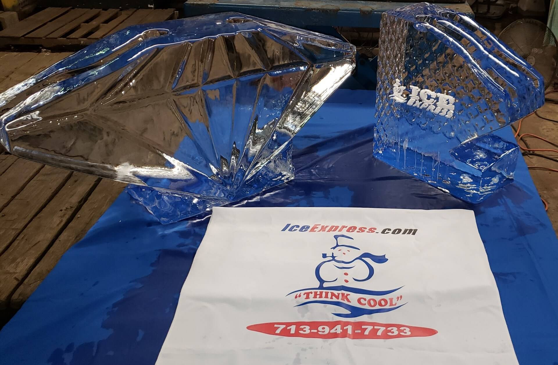Large Block Ice Supplier