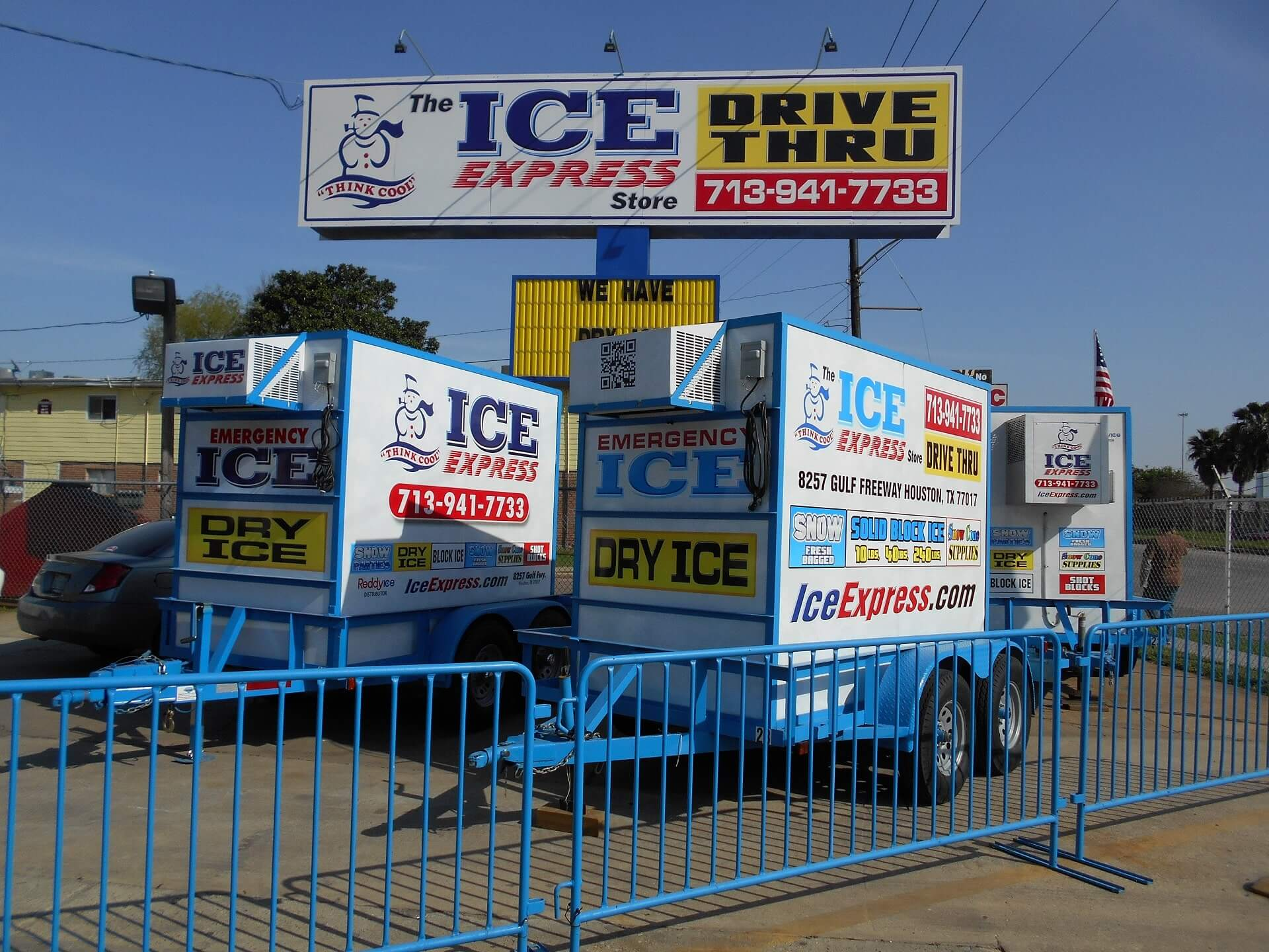 Mobile Ice Trailers in Houston