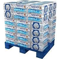 Palletized Bottle Water Deliveries