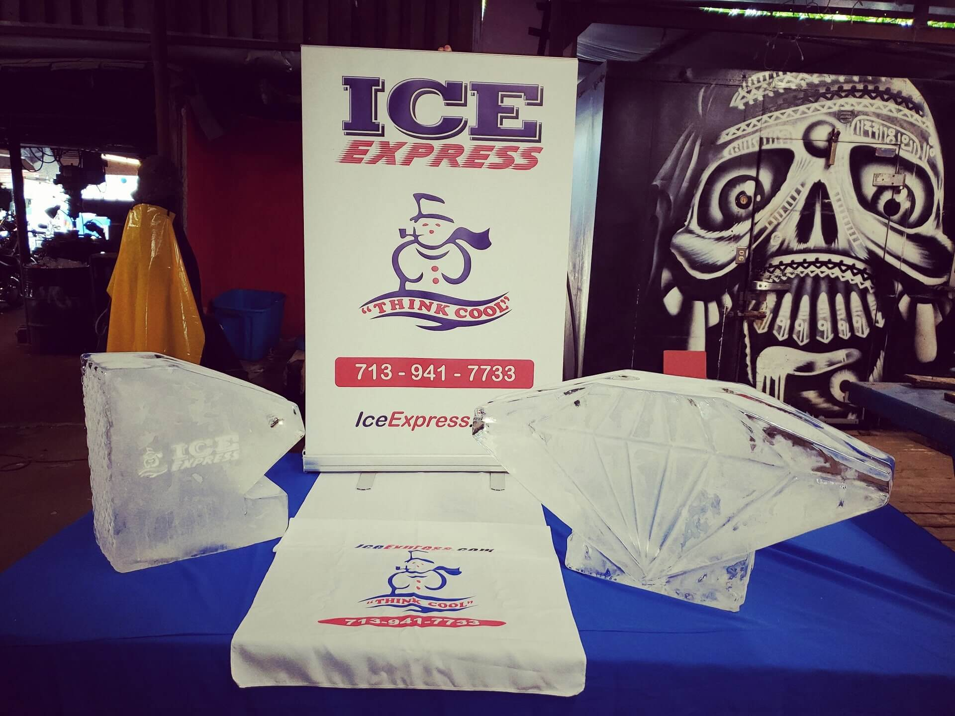 Special Event Ice Carving